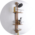 the company who made the bamboo shower caddy is umbra with over 30 years of extensive experience in the houseware industry the umbra is