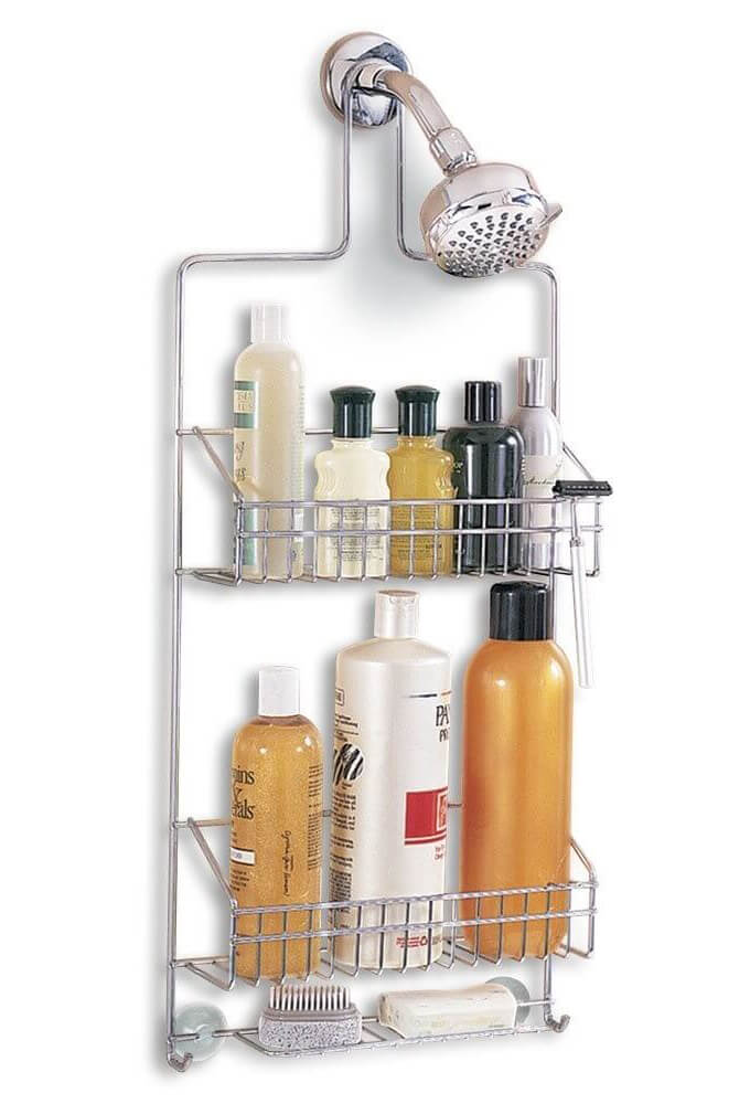 Better-Housware-Deluxe-Chrome-Shower-Caddy (1)